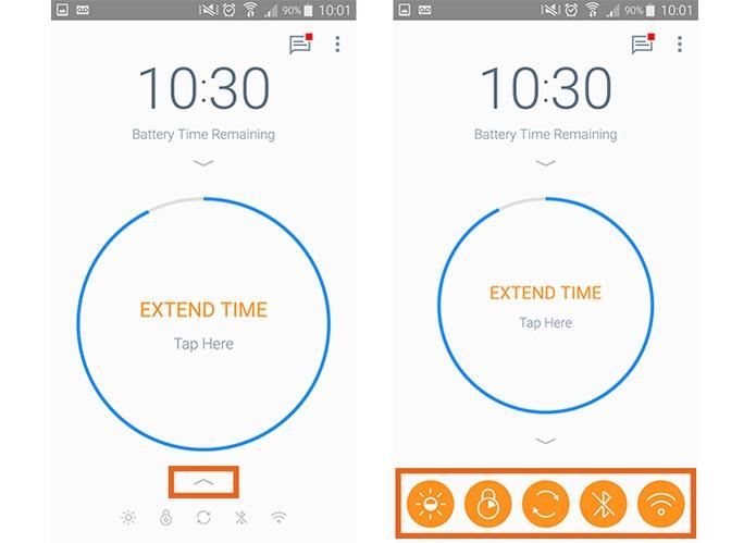 Altere configurações no Android para economizar bateria (Foto: Reprodução/Barbara Mannara)