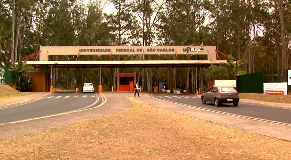 Universidade Federal de São Carlos (UFScar) (Foto: Reprodução/ EPTV)