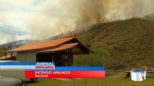Dano ambiental de incêndio na Serra da Bocaina levará até 15 anos para ser sanado