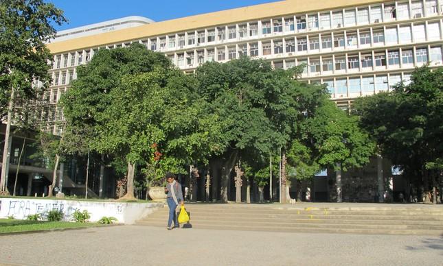 Prédio da Reitoria da UFRJ, a maior universidade federal do país