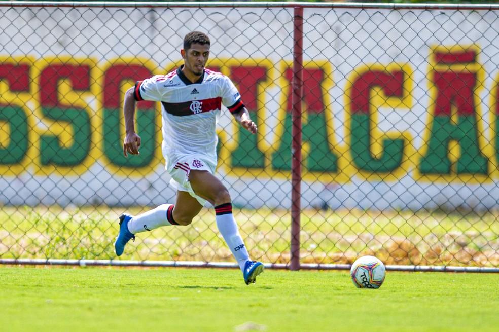 Ítalo Flamengo — Foto: Marcelo Cortes / CR Flamengo