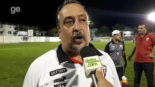 """Charles de Almeida pede """"cabeça fria"""" ao Serra para passar pelo Real Noroeste nas semifinais"""