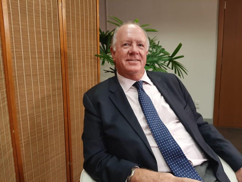 Nigel Croft é britânico, PhD em sistemas de gestão de qualidade, e trabalhou por quase duas décadas no Brasil com análise de conformidade de produtos e serviços — Foto: Daniel Silveira/G1