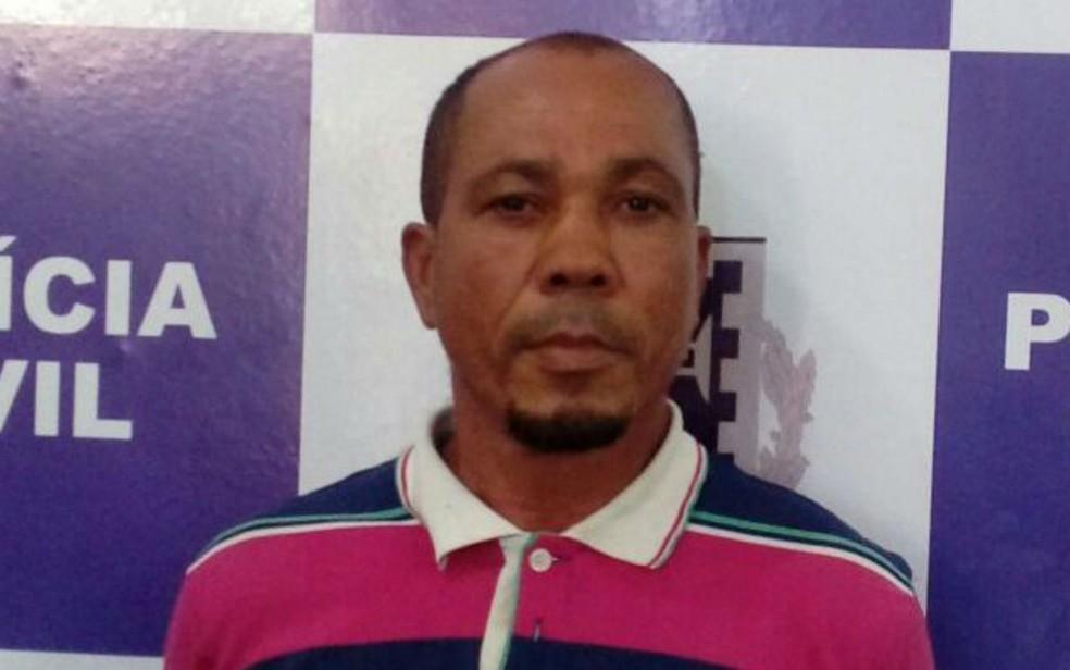 Edgar Pereira foi preso em flagrante na BR-101, em Itabuna (Foto: Divulgação / Polícia Civil)