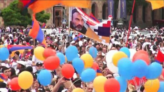 Armênia elege novo primeiro-ministro