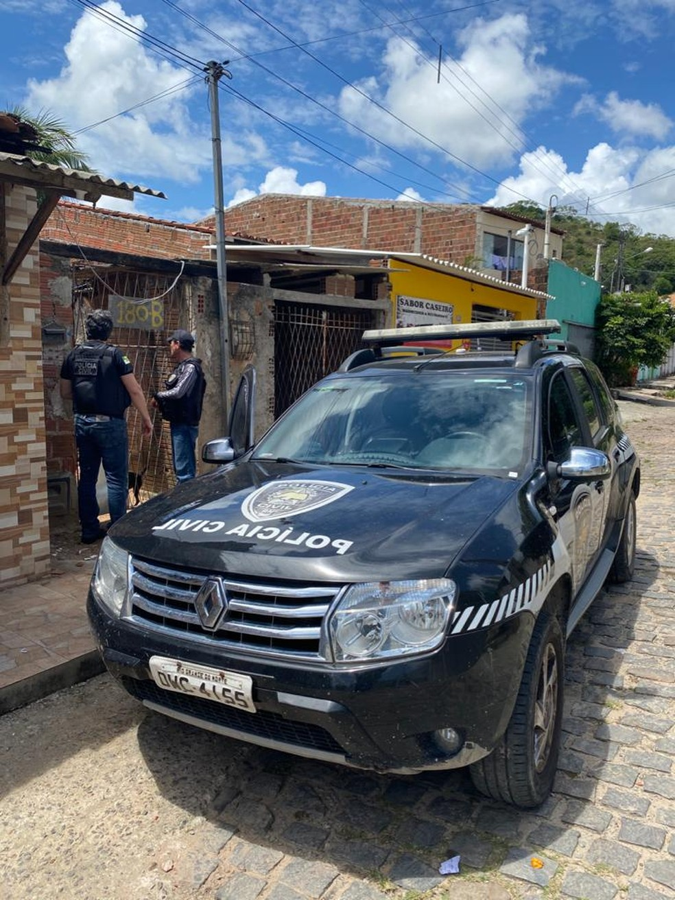 Polícia cumpre mandados no RN. — Foto: PCRN/Divulgação