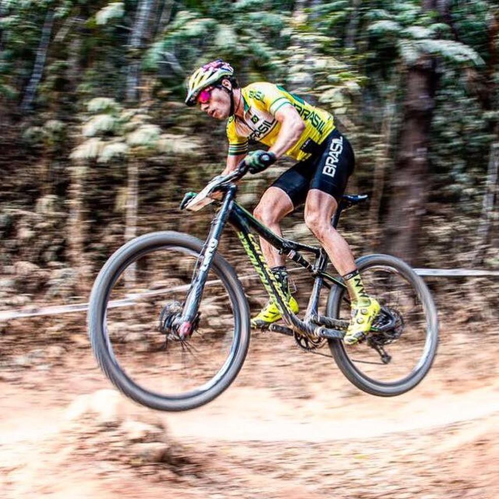 ciclismo mountain bike henrique avancini (Foto: Reprodução / Facebook)