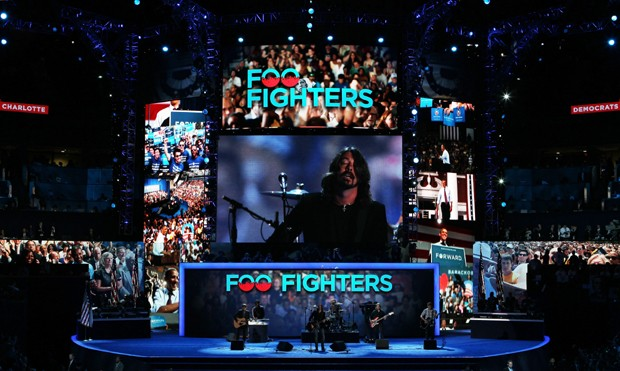 Foo Fighters: David Letteman > América do Sul  (Foto: Getty Images)