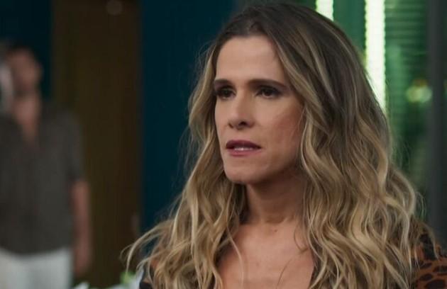 Na quarta-feira (9), Silvana (Ingrid Guimarães) ficará cega após uma acidente no set de gravação (Foto: TV Globo)