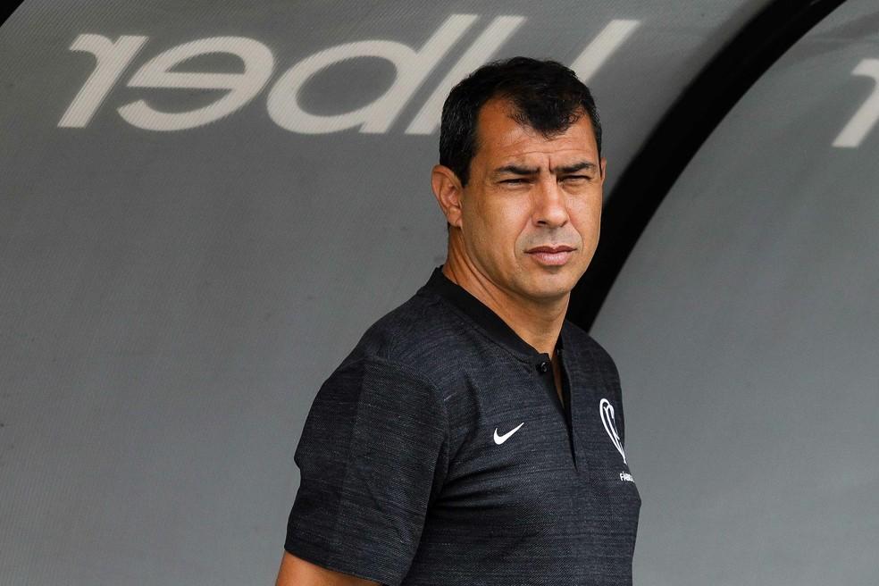 Corinthians não venceu clássicos desde a saída de Fábio Carille, no meio do ano passado â?? Foto: Marcello Fim / Estadão Conteúdo