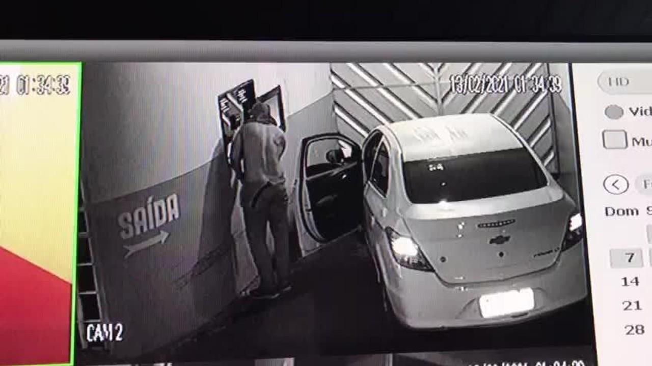 Vídeo registra momento em que policial foge de motel em Manaus