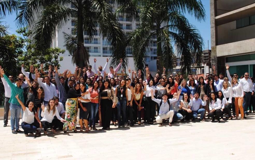 Construtora conta com 150 corretores de imóveis em Goiânia e quer ampliar o quadro (Foto: Divulgação/MRV)