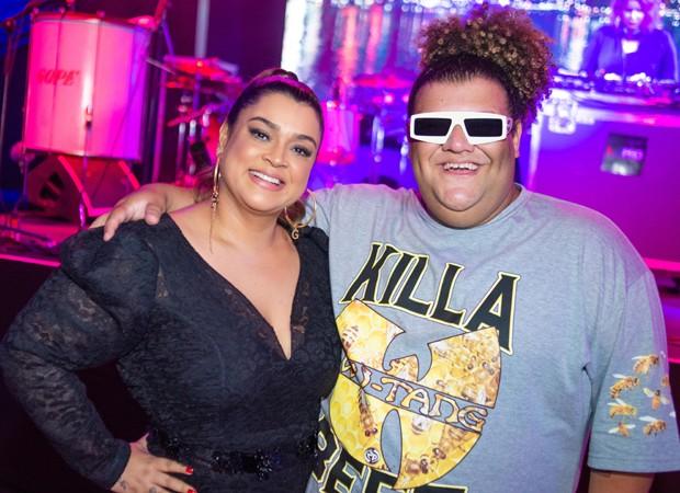 Preta Gil e Gominho (Foto: V RebeL/Divulgação)