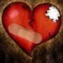Papel de Parede: Coração Partido