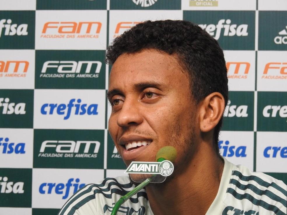 Marcos Rocha ainda se adapta a São Paulo: provocações eram rotina em BH (Foto: Tossiro Neto)