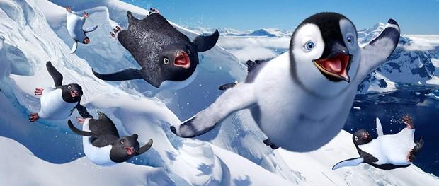Cena de Happy Feet (Foto: Divulgação)