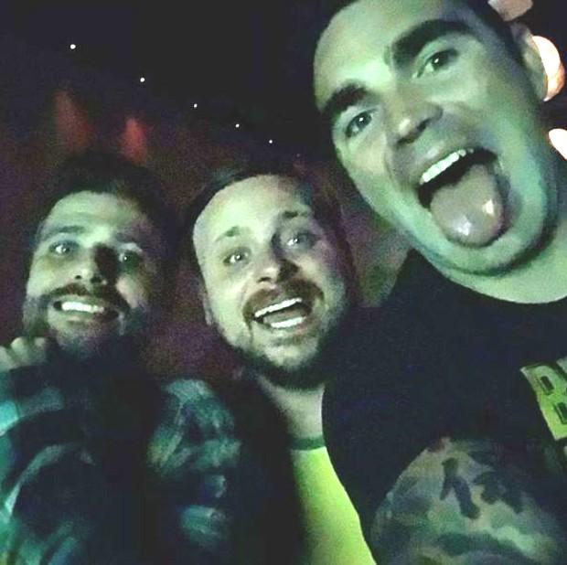 Bruno Gagliasso, Léo Fuchs e Chico Salgado (Foto: Reprodução/Instagram)