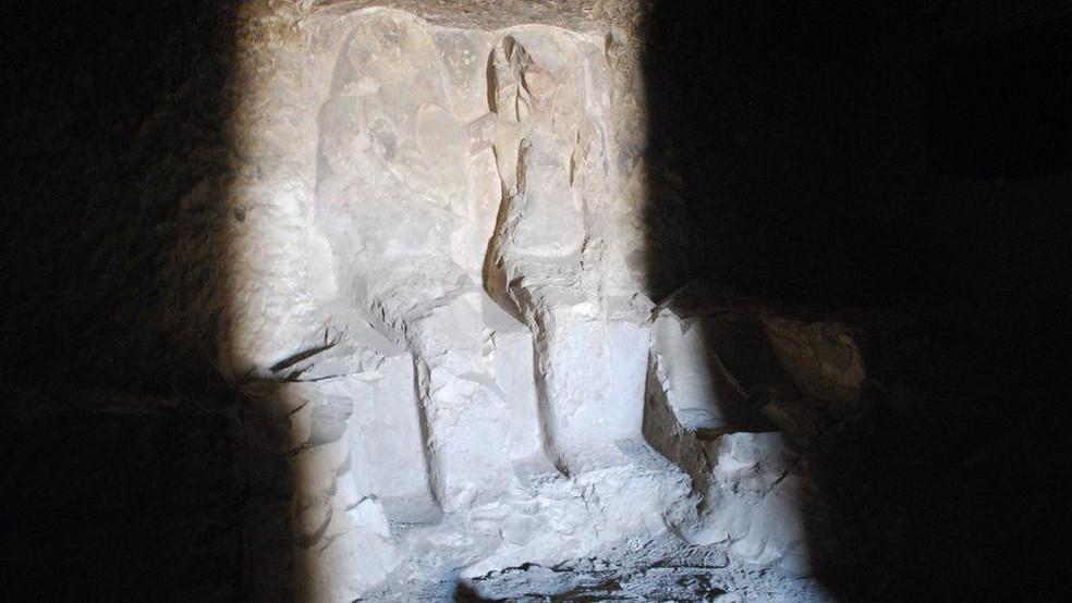 A tumba estudada foi construída durante o reinado de Tutmés III (Foto: Divulgação via BBC)