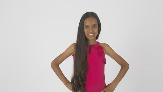 Conheça Izabela Góis, participante do 'The Voice Kids'