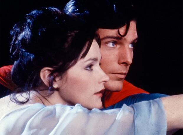 Margot Kidder e Christopher Reeve em Superman (1978) (Foto: Divulgação)