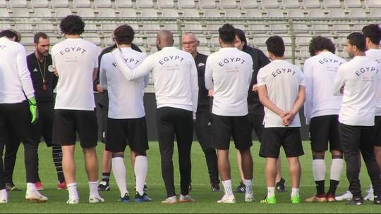 Técnico do Egito espera contar com Salah na estreia diante do Uruguai