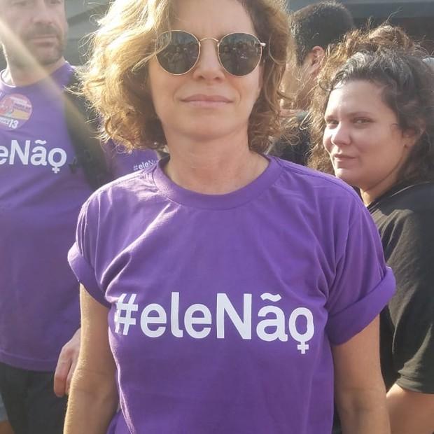 A atriz Débora Bloch (Foto: Marie Claire)