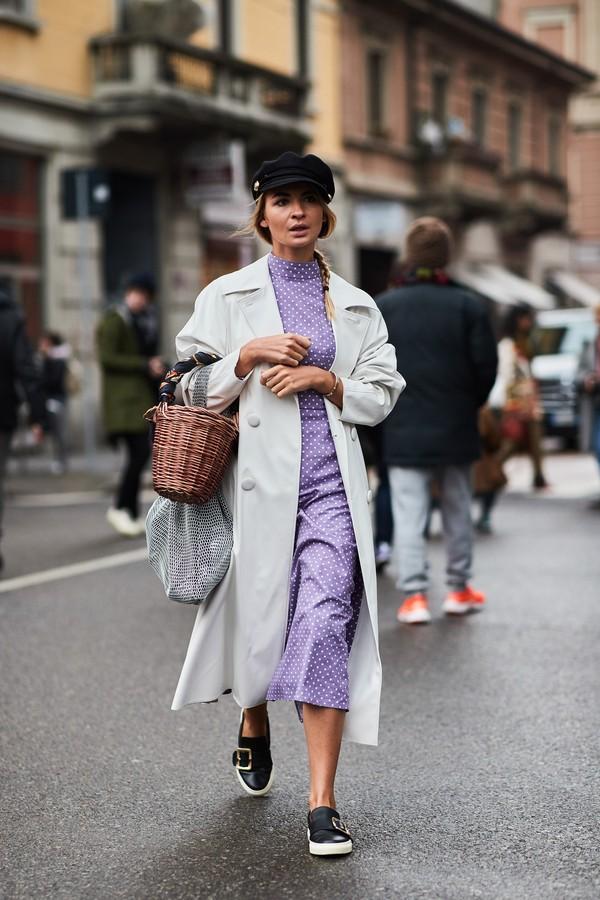 Vestido midi (Foto: Imaxtree)
