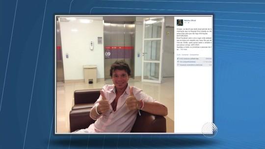 Cantor Netinho volta a ser internado em SP após sentir tontura