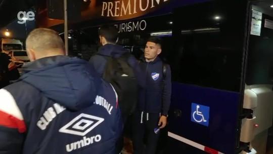 Completo, Nacional chega a Porto Alegre com missão de eliminar Inter no Beira-Rio