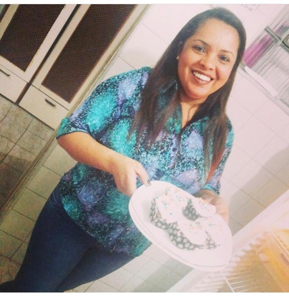 Cleide era moradora de São Vicente (SP) e estava grávida de 13 semanas — Foto: Arquivo pessoal