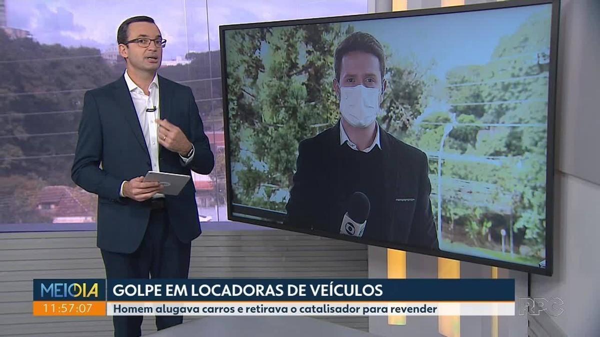 Homem alugava carros em Curitiba e região para retirar peça e revender, diz polícia