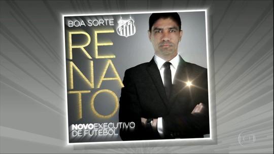 Liderança, elo com a diretoria e identificação: o que levou Renato a virar executivo do Santos