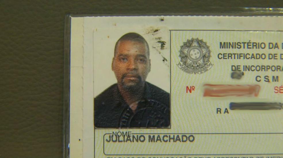 Juliano Machado, de 40 anos, morto após suspeita de omissão de socorro em frente a UBS de Ribeirão Preto (SP) (Foto: Reprodução/EPTV)