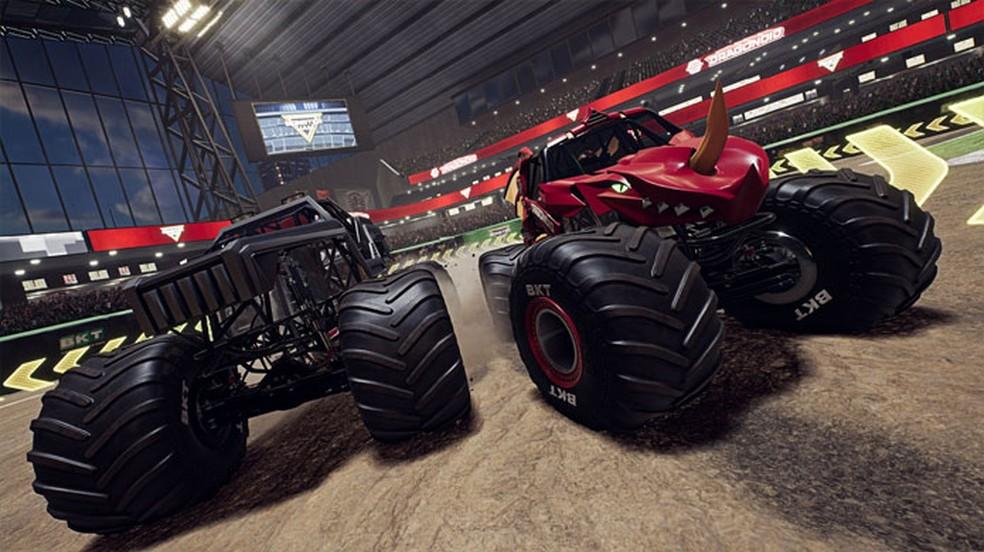 Monster Jam Steel Titans 2 apresenta uma boa variedade de modos para curtir com os grandes Monster Truck — Foto: Reprodução/Xbox Games Store