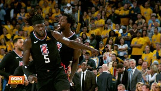 NBA: Clippers vira para cima do Warriors em partida histórica
