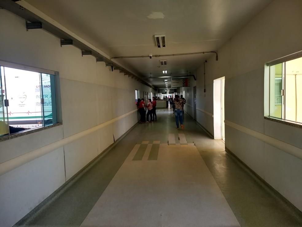 Vânia fez exame no Hospital de Base em Porto Velho — Foto: Diêgo Holanda/G1