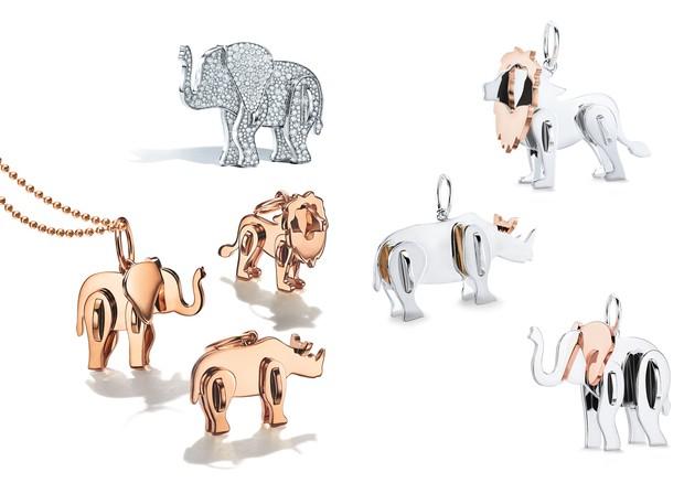 Novas joias da linha Tiffany Save the Wild (Foto: Divulgação)