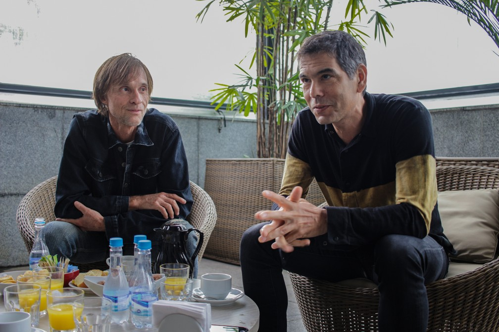Os legionários admitem a possibilidades de turnês para os outros álbuns da banda. (Foto: Diego Matheus)