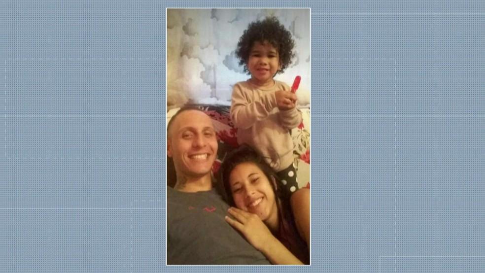 Casal é suspeito de espancar e matar criança de 3 anos — Foto: Reprodução/TV Globo