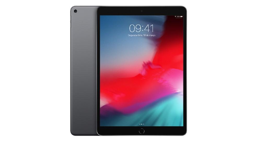 iPad Air (2019) oferece tela maior, de 10,5 polegadas — Foto: Divulgação / Apple