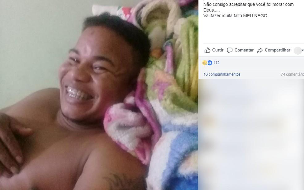 José Ailton dos Santos morreu ao atropelar cachorro em Tangará da Serra (Foto: Facebook/Reprodução)