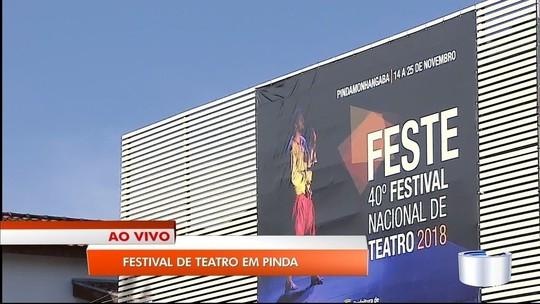 Festival de Teatro tem apresentações gratuitas em Pinda