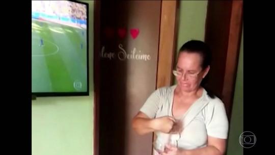 Poder da fé ou coincidência? Vovó da Sorte explica vela acesa na hora do gol do Brasil