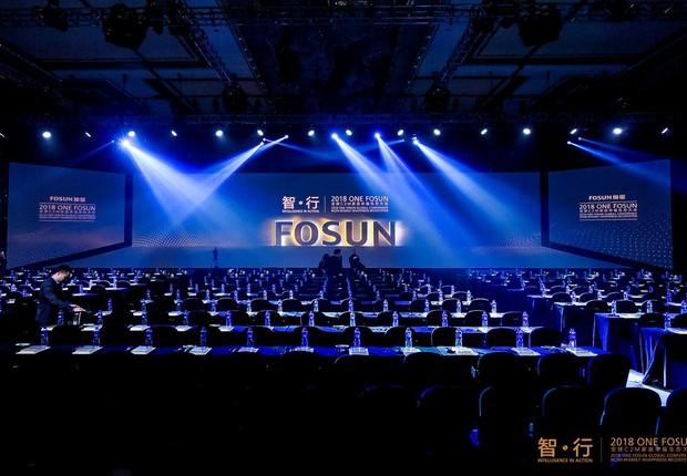 Conferência Global Fosun One 2018 (Foto: Reprodução/Facebook)
