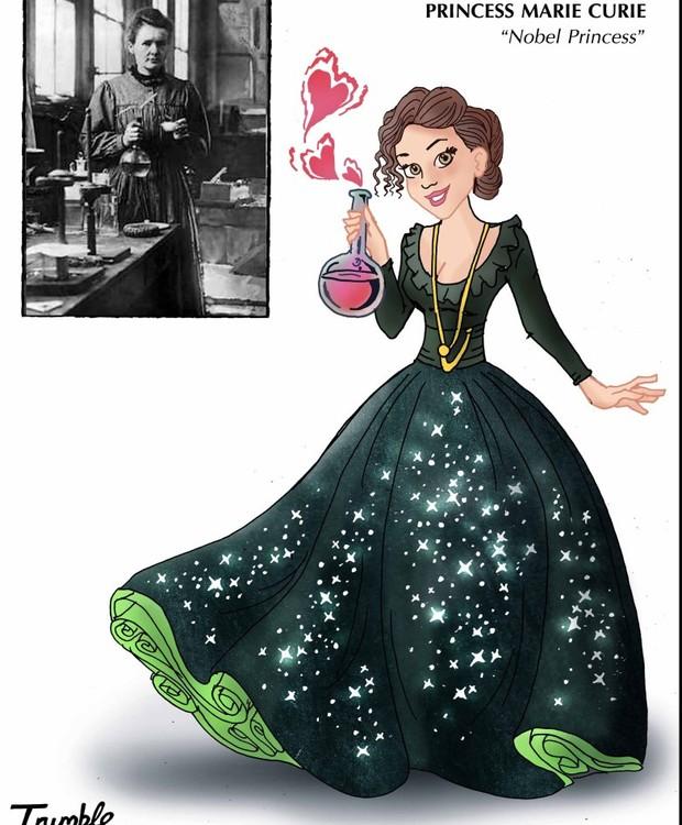 Marie Curie, princesa Nobel (Foto: Trumble/ Reprodução)