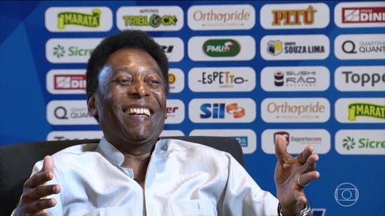 Pelé prefere Messi a CR7 e revela que Maradona ficou com ciúme