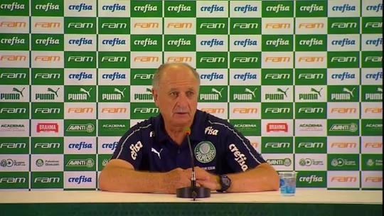 Sem Deyverson, Felipão diz que Palmeiras vai inscrever Arthur Cabral no Paulistão