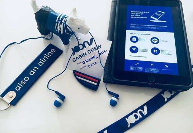 O entretenimento a bordo oferece mais de 1.200 horas de programas (Foto: Divulgação / Air France )