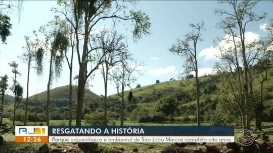 Parque arqueológico e ambiental de São João Marcos completa oito anos