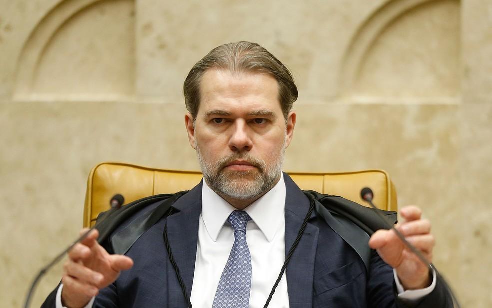 O ministro Dias Toffoli, presidente do STF — Foto: Dida Sampaio/Estadão Conteúdo